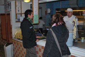 Lokala pizzabagaren i Alby